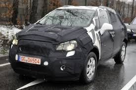 opel corsa bakkie modified scoop opel u0027s new corsa based small suv is gm u0027s answer to the