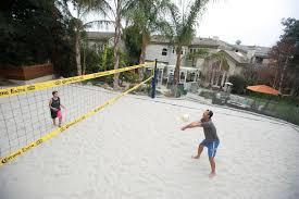 palisadian brings beach volleyball to his backyard palisadian post