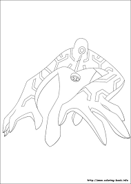 ben 10 108 cartoons u2013 printable coloring pages