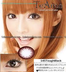 teamo darling tough black colored contacts pair gbk 3 24 99