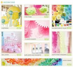 kara u0027s party ideas decorations flower daisies lanterns streamers