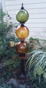 Ceramic Garden Art Wooden Garden Totems How To Make Gl Yard Art Projects Island Langley