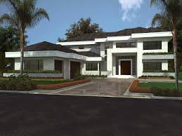contemporary florida style home plan 32051aa architectural