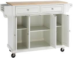 crosley kitchen island amazon com crosley furniture rolling kitchen island with natural