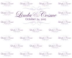 wedding backdrop name design step repeat backdrop designs october 2015 redcarpets