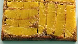 light pineapple upside down cake