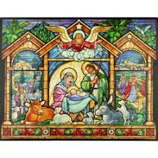 nativity advent calendar monastery greetings stained glass nativity advent calendar