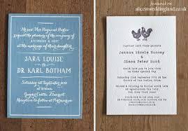 Letterpress Invitations Unique Letterpress Wedding Invitations A Touchy Feely Art Form