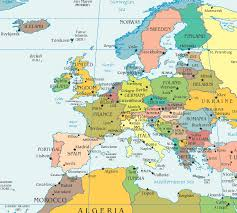 map of n europe map northern europe countries major tourist attractions