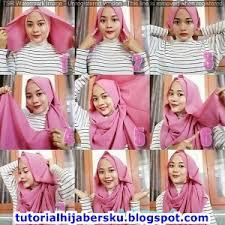 tutorial hijab pashmina untuk anak sekolah tutorial hijab anak sekolah simple dan mudah terbaru 2017 tutorial
