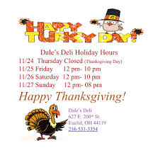 happy thanksgiving in espanol dales deli home facebook