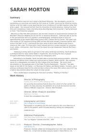 cinematographer cover letter