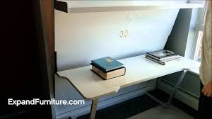 Office Desk Bed Wall Bed Desk From Expand Furniture