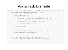 asynctask android exle android async task