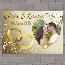 congratulations engagement banner personalised congratulations wedding engagement anniversary party