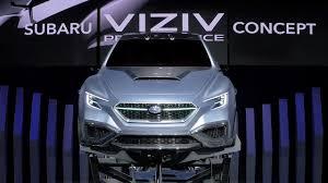 Subaru Viziv Performance Concept Tokyo Motor Show 2017 Youtube