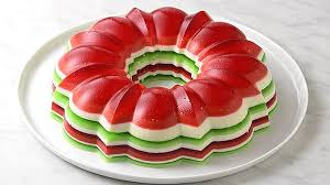 christmas jello salad ring recipe tablespoon com