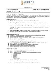 office manager sample job description job objective examples for