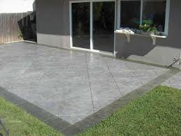 painting outdoor concrete floors ideas simple outdoor concrete
