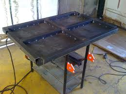 Welding Table Plans by Lets See Your Welding Tables Pirate4x4 Com 4x4 And