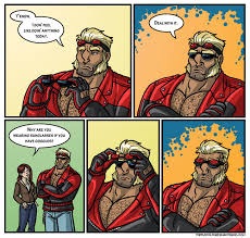 Put On Sunglasses Meme - manly guys doing manly things i haven t gotten sick of this meme yet
