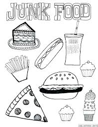 healthy food coloring pages preschool healthy coloring pages food coloring pages healthy foods coloring