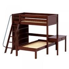 Bunk Bed With Shelves Girls Twin U0026 Full Loft Beds Girls Desks U0026 Storage Lofts