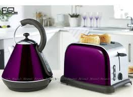 Russell Hobbs Purple Toaster Best Kettle U0026 Toaster Sets Uk In Red Green Purple Blue
