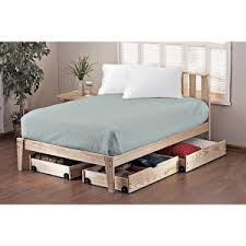 bedroom alaskan king bed with double bed and table lamp plus