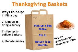 thanksgiving baskets thanksgiving baskets lutheran richmond
