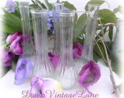 Florist Vases Clear Bud Vase Etsy