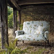 sanderson fabrics woodland chorus sky blue multi 225509