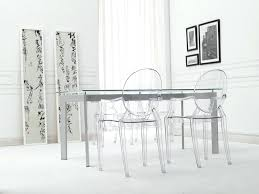 Clear Dining Room Table Clear Dining Room Chairs Studio Clear Plastic Modern Dining Chair