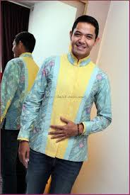 desain baju batik pria 2014 model baju batik pria lengan panjang terbaru batik tulis indonesia