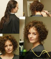 stacked perm short hair stacked bob with some length in front nice perm style shown from