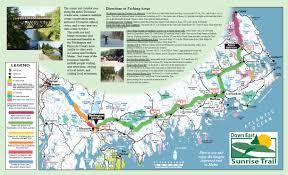 Map Maine Sunrise Trail Coalition Home