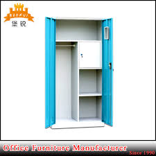 china india home standard steel iron clothes cupboard bedroom