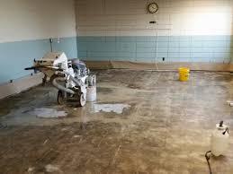 Remove Floor Tiles From Concrete Concrete Polishing Floor Repair Epoxy Stained Floors In Kansas City