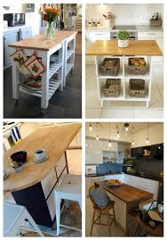 ikea kitchen cabinets on wheels 20 ikea kitchen island hacks you ll comfydwelling