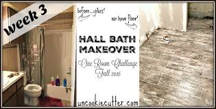 Challenge Fall In Bath Bath Makeover One Room Challenge Week 3 Uncookie Cutter