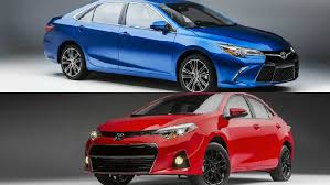 toyota corolla special edition 2016 toyota camry and corolla getting special editions at chicago