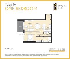floor plans studio one dubai properties launch
