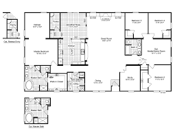 5 bedroom floor plans 2 story the evolution vr41764c manufactured home floor plan or modular