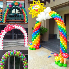 wedding arches and columns wholesale 3m x 2 5 m balloon arch for wedding party event venue decoration