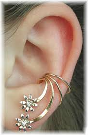ear wraps flowers ear wrap i ll be purchasing this soon the site has
