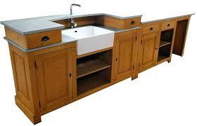 module cuisine meuble cuisine bois et zinc meuble cuisine bois et zinc meuble