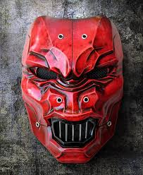 Cool Mask Anger Mask 608 Rock Style Anger Is Bad For Your Health Instead Of