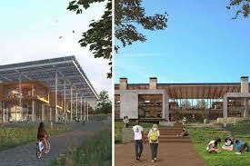 Gatech Campus Map Ga Tech U0027living Building U0027 Design Selected Curbed Atlanta