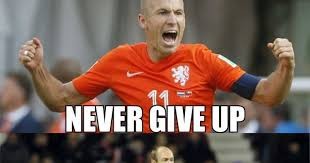 Robben Meme - never give up on diving because weknowmemes