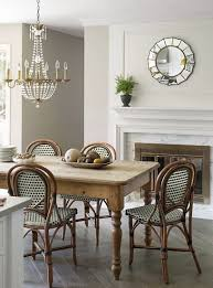 bungalow blue interiors home obsessed french bistro chairs